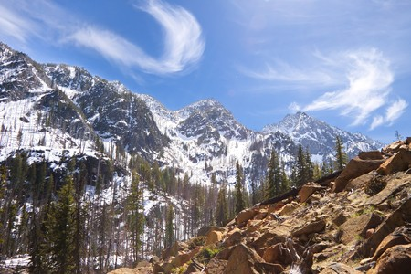 cascade range: Cascade Mountains, USA