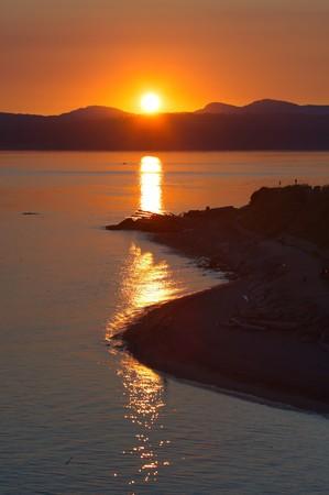 victoria bc: Ocean Sunset, Victoria, BC, Canada
