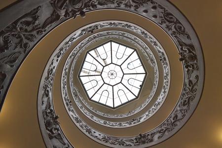 Staircase, Rome, Italy Redakční