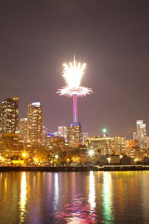 ontario: Fireworks in Toronto, Ontario, Canada