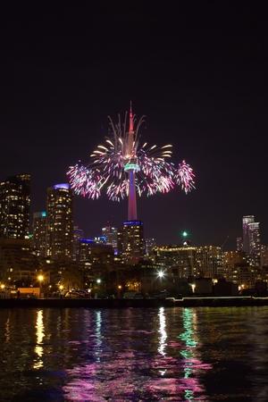 toronto: Fireworks in Toronto, Ontario, Canada