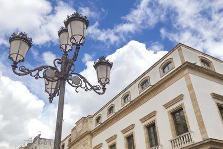 electric fixture: Cordoba, Spain Stock Photo