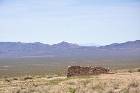 nevada: Ghost town, Nevada desert, USA