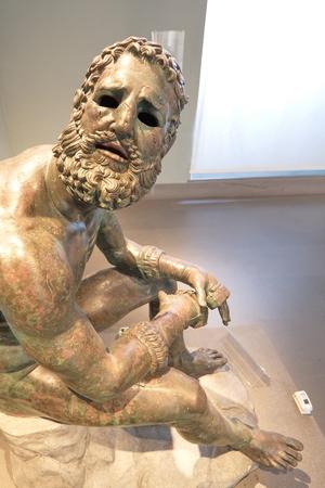 古代ローマ彫刻 写真素材
