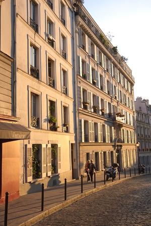フランス、パリのストリート