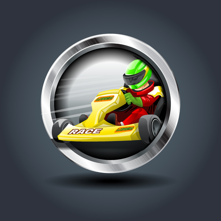 Race vector graphics. Çizim