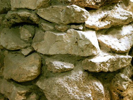 Natural old stone wall background Stockfoto - 122915050