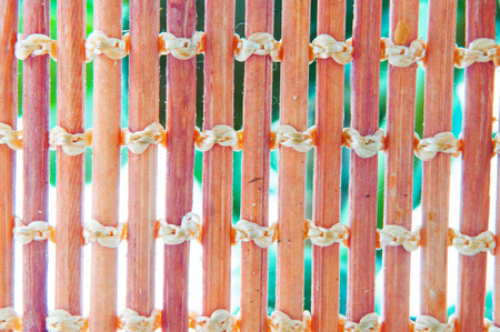 Abstract background of interwoven sticks. Reklamní fotografie - 124906359