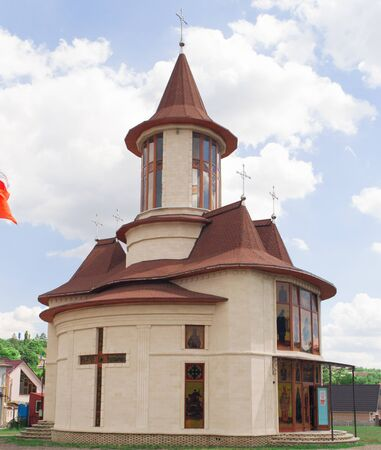 Orthodox small church in the suburbs