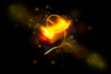 Abstract light background in motion Imagens - 132173004