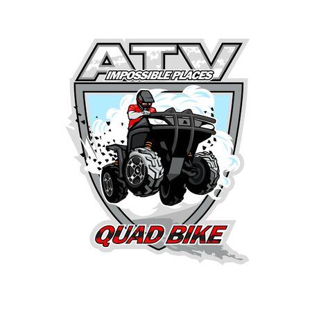 ATV Quad Bike, Impossible places. Illusztráció