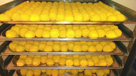 Holland Ommer Bitterballen Stockfoto