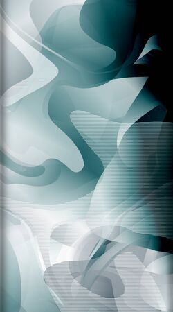 Abstract liquid pattern as background. portrait vector background.