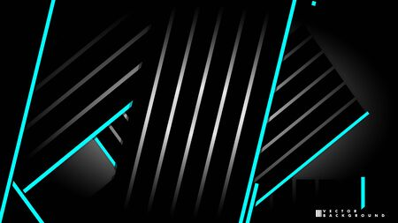 Abstract vector background. Geometric Lines - Creative and Inspiration Design