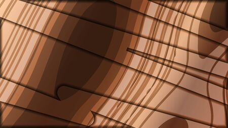 abstract wave background with wooden patterns