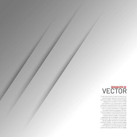 White paper vector background layer with space for text and message design of modern artwork  イラスト・ベクター素材