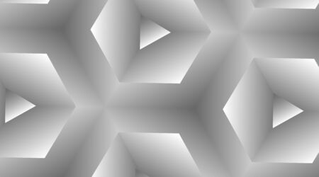 abstract vector background of a hexagon pattern with white gradient