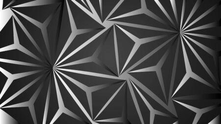vector design background abstract black polygon