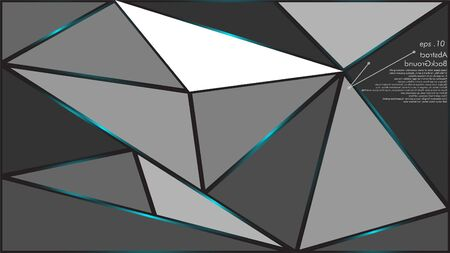 Geometric texture Abstract background vector can be used in cover design, book design, website background, banner, poster, advertising. Ilustração