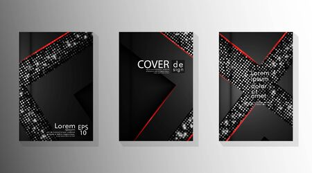 Set elegant background designs For designs, lists, pages, banners, ideas, covers, booklets, prints, leaflets, books, etc.