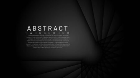 Luxurious dark background with texture overlay layer. Modern dark black background with dynamic shape and shadow
