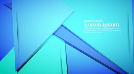Abstract blue background, modern style overlay, with space for design, text input ,Design business cards, website, brochures, leaflets, banners.