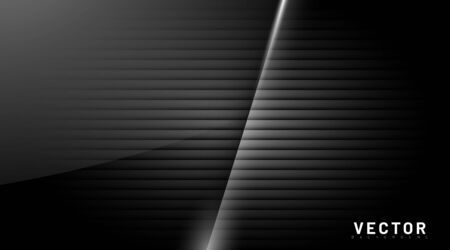 abstract vector background. black glossy with overlapping shadows. design illustration