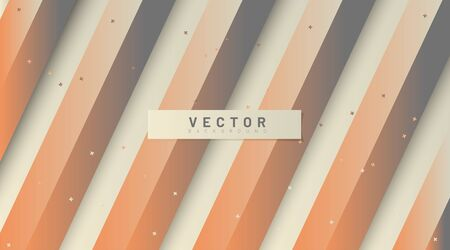 abstract vector background. straight parallel lines with gradients. 3D design