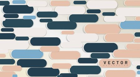 abstract vector background. line pattern shape rounded. 3D design