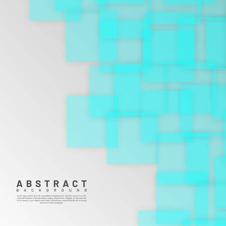 abstract vector background. overlapping transparent square design. Vector illustrations for wallpapers, banners, backgrounds, cards, book illustrations, landing pages