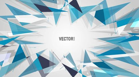 abstract vector background. polygonal space low poly  background  . Vector Illustration For Wallpaper, Banner, Background, Card, Book Illustration, landing page Ilustração