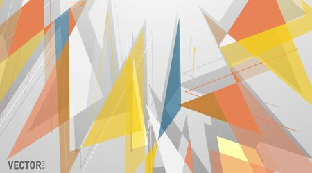 abstract vector background. polygonal space low poly background . Vector Illustration For Wallpaper, Banner, Background, Card, Book Illustration, landing page