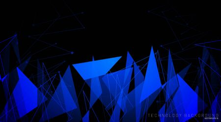 abstract vector background. polygonal space low poly  background with line  . Vector Illustration For Wallpaper, Banner, Background, Card, Book Illustration, landing page