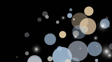 abstract vector background.blue  Circle Dot Unique isolated black Background . Vector Illustration For Wallpaper, Banner, Background, Card, Landing Page etc.
