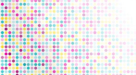 abstract vector background. colorful Random Dots .design circle .Vector Illustration For Wallpaper, Banner, Background, Card, Landing Page etc.