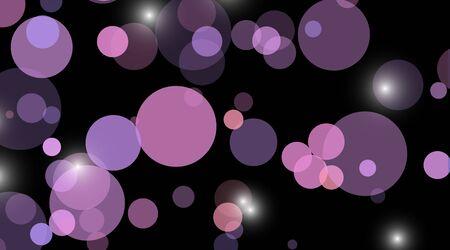 abstract vector background.blue Circle Dot Unique isolated black Background . Vector Illustration For Wallpaper, Banner, Background, Card, Landing Page etc. Ilustração