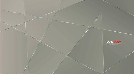 abstrakter Vektor geometrischer Hintergrund. luxuriöses polygonales Muster und Linien. Vektor-Illustration für Tapete, Banner, Hintergrund, Karte, Zielseite usw