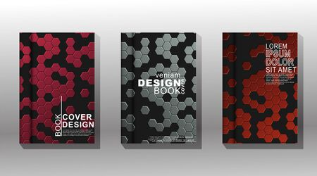 Set minimal cover design. Modern vector template background. New texture for your design.