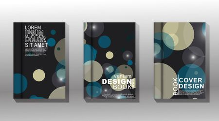 Minimal vector cover design background. New texture for your design. Stockfoto - 138470815