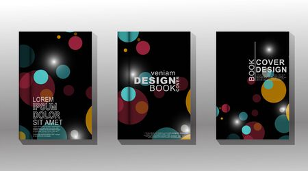 Minimal vector cover design background. New texture for your design.