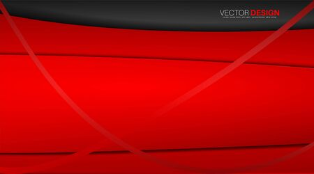 Vector design background. Creative abstract wave concept layout template.