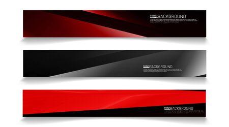 Moderne Web-Banner-Hintergrund. abstraktes Vektor-Template-Design. Lichteffekt-Abbildung Vektorgrafik