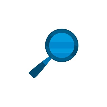 Lupe fill style icon design, Tool search magnifying glass zoom lens and exploration theme Vector illustration  イラスト・ベクター素材