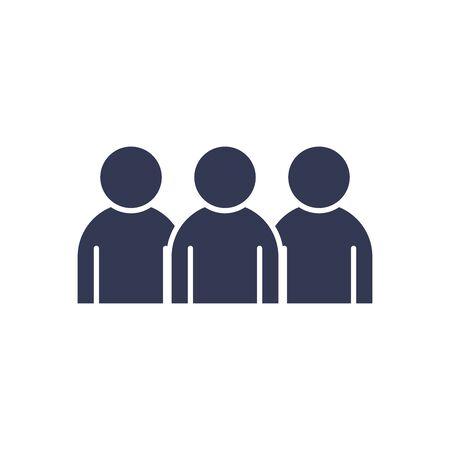 Avatars men flat style icon design of Person profile social communication and human theme Vector illustration Vettoriali