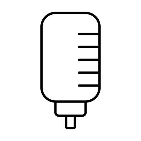 retro classic microphone icon over white background, line style, vector illustration