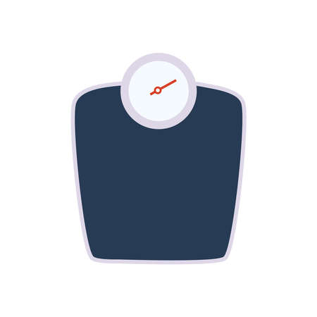 Fitness scale on white background design, Gym sport and bodybuilding theme Vector illustration 向量圖像