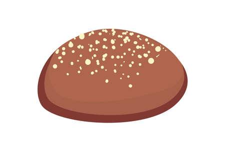 grain bread of bakery food
