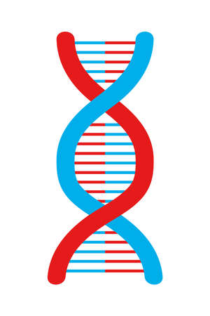 DNA strand icon