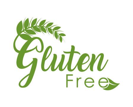 gluten free illustration Vetores