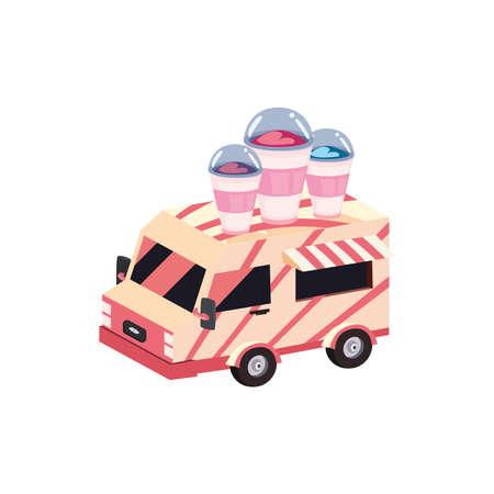 milkshakes drinks truck